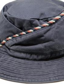 Kapital cappello da pescatore blu con cordino cappelli acquista online