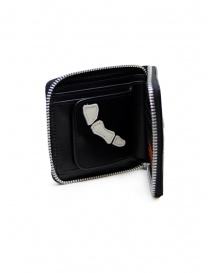 Kapital black leather wallet with hand skeleton wallets buy online