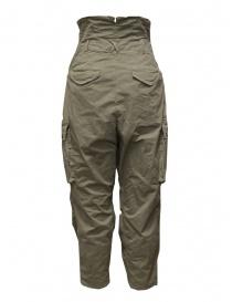Kapital khaki high-waisted multi-pocket pants buy online