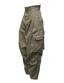 Kapital khaki high-waisted multi-pocket pants price