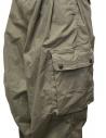 Kapital pantalone multitasche vita alta kaki K2006LP209 KHA acquista online