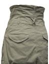Kapital pantalone multitasche vita alta kaki prezzo K2006LP209 KHAshop online