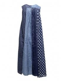 Kapital long sleeveless indigo mixed fantasy dress price