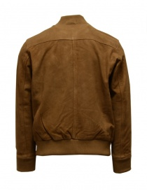Selected Homme Rubber brown suede bomber jacket price