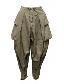 Kapital pantalone largo con tasche laterali khaki online