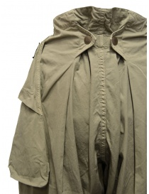 Kapital pantalone largo con tasche laterali khaki acquista online prezzo