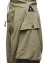Kapital khaki wide pants with side pockets price K2005LP197 KHA shop online