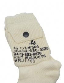 Kapital white socks with side pocket price