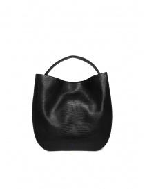 D'Ottavio E48 black lizard print round bag price