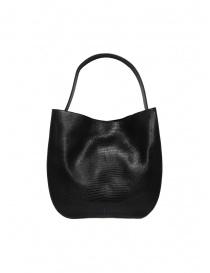 D'Ottavio E48 black lizard print round bag bags price