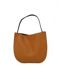 D'Ottavio E48 caramel and black round bag bags buy online