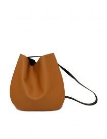 D'Ottavio E48 caramel and black round bag