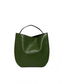 D'Ottavio E48 green lizard effect round bag price