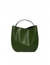 D'Ottavio E48 green lizard effect round bag bags buy online