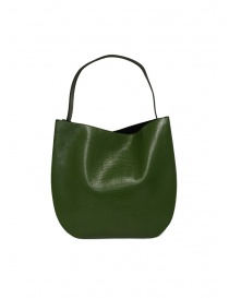 D'Ottavio E48 green lizard effect round bag bags price