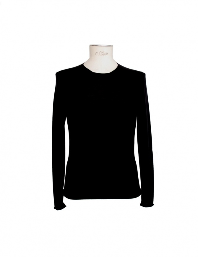 Label Under Construction black sweater 20YMTS188 WS mens knitwear online shopping