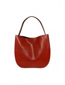 D'Ottavio E48 red round bag with lizard effect price