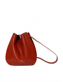 D'Ottavio E48 red round bag with lizard effect bags price
