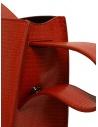 D'Ottavio E48 red round bag with lizard effect price E48TS300 shop online