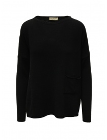 Ma'ry'ya black pullover with pocket online