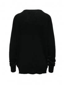 Ma'ry'ya maglione nero in cashmere