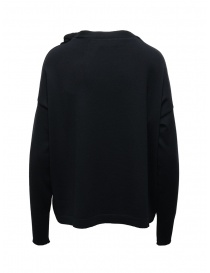 Ma'ry'ya navy sweater with ribbons on the neck price