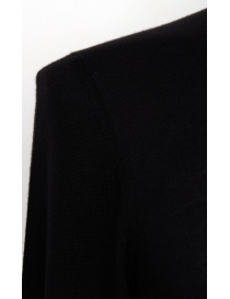 Label Under Construction black cashmere sweater mens knitwear buy online