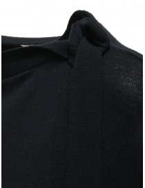 Ma'ry'ya navy sweater with ribbons on the neck