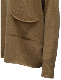 Ma'ry'ya brown pullover with pocket