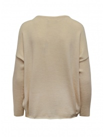 Ma'ry'ya light beige sweater with front crease price