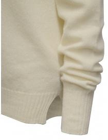 Ma'ry'ya white cashmere sweater