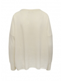 Ma'ry'ya white pullover with pocket