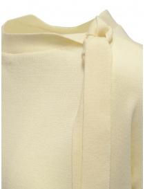Ma'ry'ya maglia bianca con nastri al collo