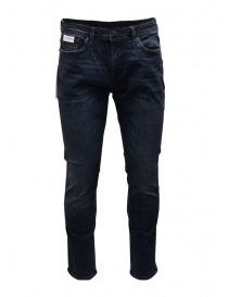 Mens jeans online: Selected Homme Slim Leon medium blue jeans