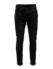 Mens jeans online: Selected Homme Slim Leon black jeans