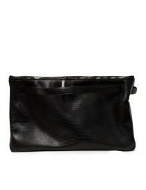 D'Ottavio E70 borsone nero con stampa a lucertola online