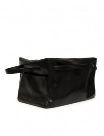 D'Ottavio E70 borsone nero con stampa a lucertola prezzo