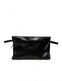 D'Ottavio E70 borsone nero con stampa a lucertola valigeria acquista online