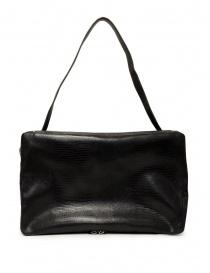D'Ottavio E70 borsone nero con stampa a lucertola valigeria prezzo