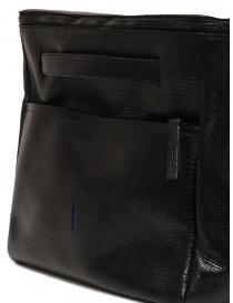 D'Ottavio E70 borsone nero con stampa a lucertola acquista online prezzo