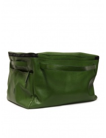 D'Ottavio E70 green duffle bag with lizard effect online