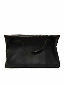 D'Ottavio E70 duffle bag in black leather price
