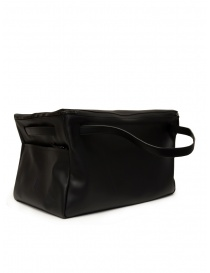 Travel bags online: D'Ottavio E70 duffle bag in black leather