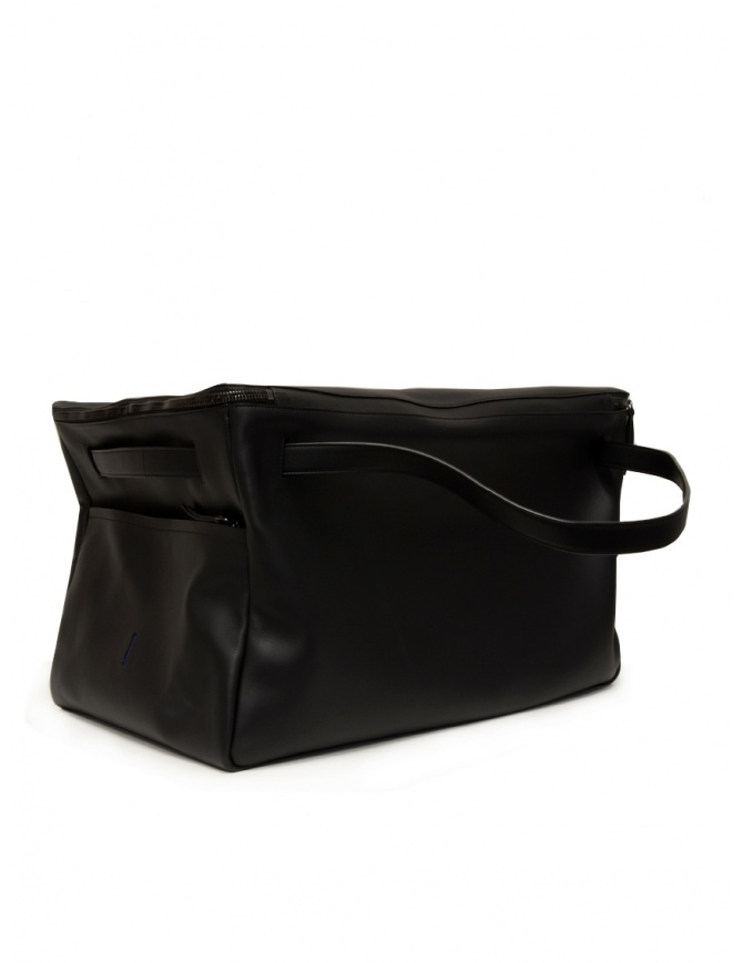 D'Ottavio E70 borsone da viaggio in pelle nera E70VO999 valigeria online shopping