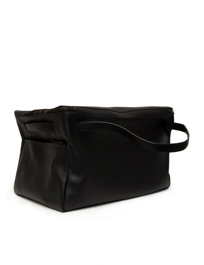 D'Ottavio E70 duffle bag in black leather E70VO999 travel bags online shopping