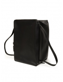 D'Ottavio E70 duffle bag in black leather