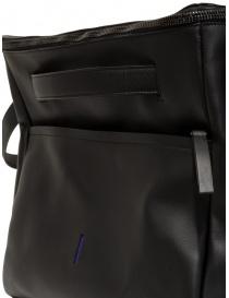 D'Ottavio E70 borsone da viaggio in pelle nera acquista online prezzo