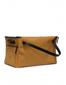 Travel bags online: D'Ottavio E70 caramel and black duffle bag