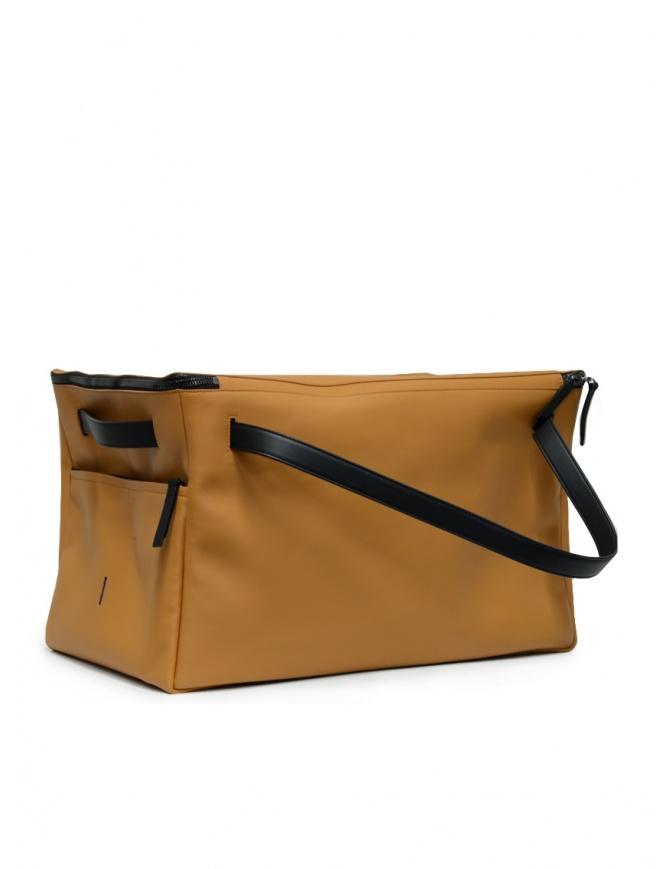 D'Ottavio E70 caramel and black duffle bag E70VO108VO999 travel bags online shopping