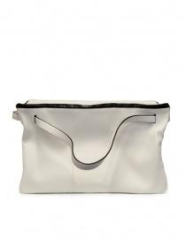 D'Ottavio E70 borsone bianco in pelle online